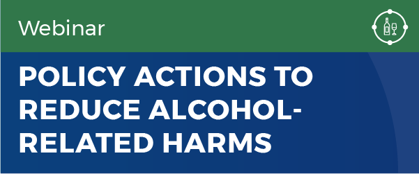 Policy action to reduce alcohol-related harms